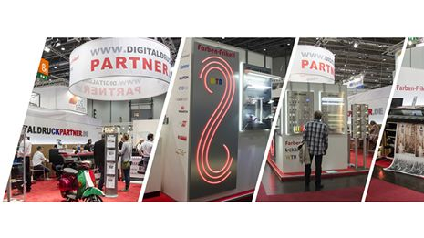 Messe Viscom 2016 Digitaldruckpartner